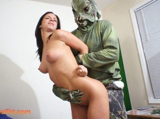 A Gross Sea Monster Sexes Jada Stevens